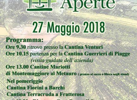 Cantine Aperte con la ProSuasa 2018 – 27 Maggio 2018